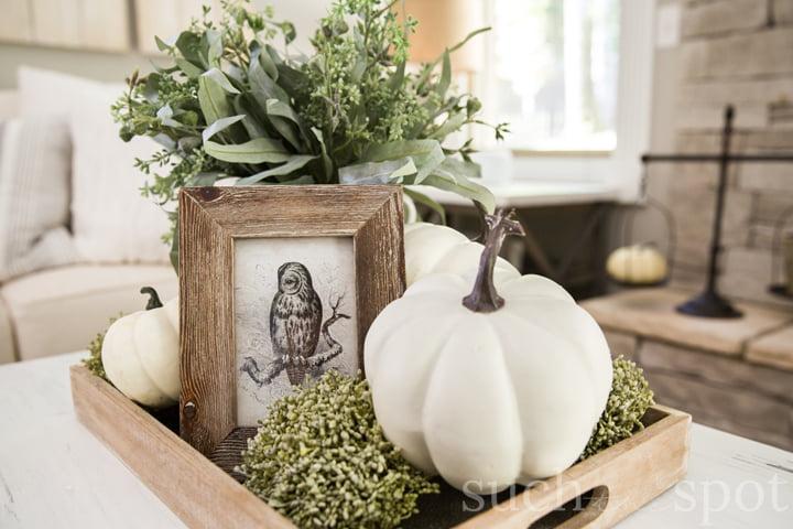 fall decorating ideas home tour