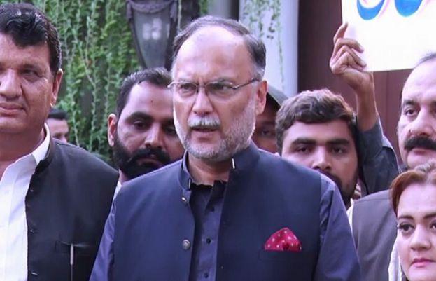 PML-N leader Ahsan Iqbal,