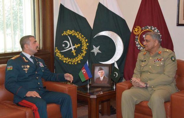 COAS, Azerbaijan Border Service Chief discuss regional security