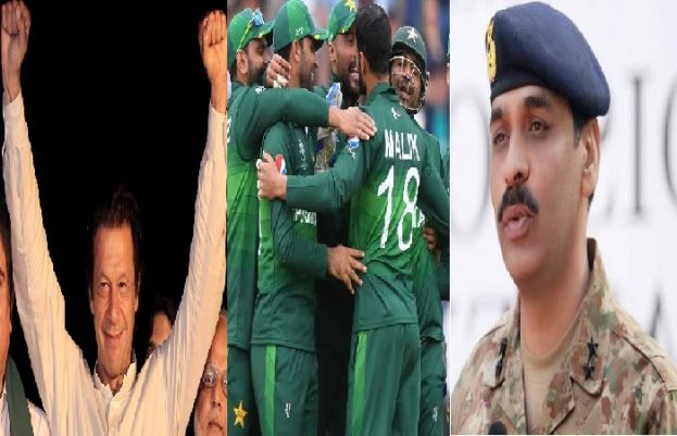 PM Imran Khan and DG ISPR congratulate Pakistani team over its victory against England