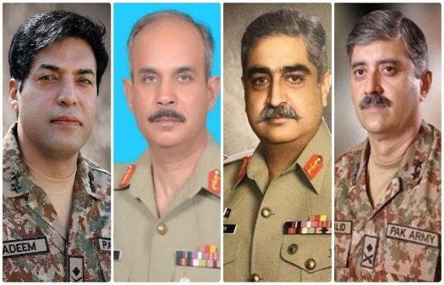 4 major Generals promoted to Lt Generals, ISPR