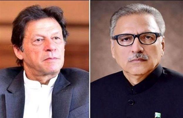 Prime Minister Imran Khan and President Arif Alvi