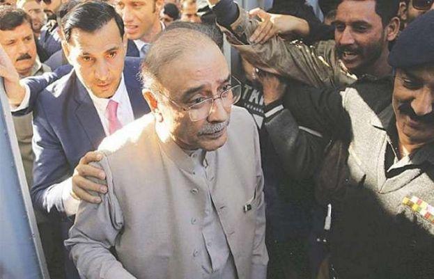 NAB Arrests Asif Zardari in money laundering case