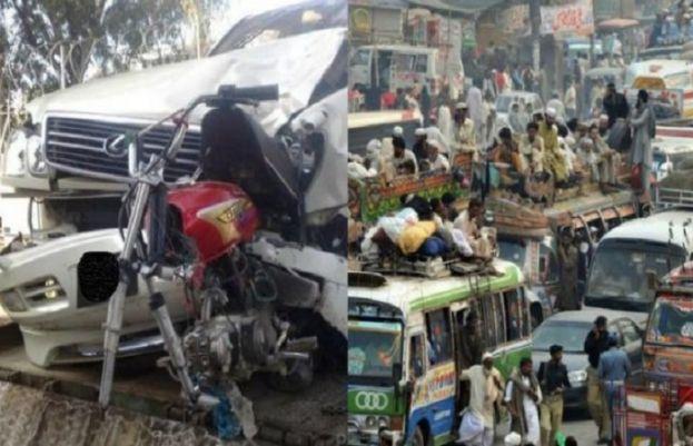 Three killed in road accident in Pakpattan
