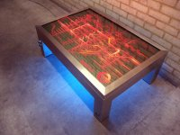 Coffee Table : Furniture that lights up the room.