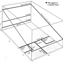 Squash Court Diagram 2000 Nissan Frontier Ac Wiring Construction And Installation Sports Unlimited