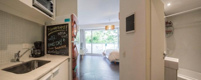 Apartamento Alquiler temporario cocina y baño