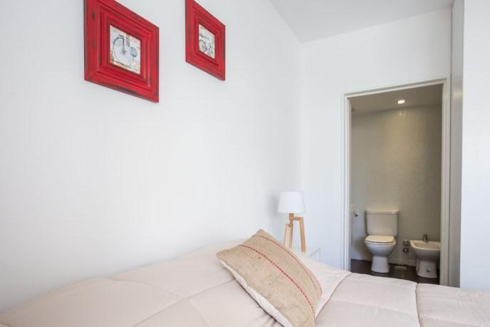 Apartamento Amoblado deluxe cama baño