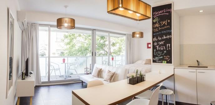 Apartamento Amoblado deluxe cocina desayunador