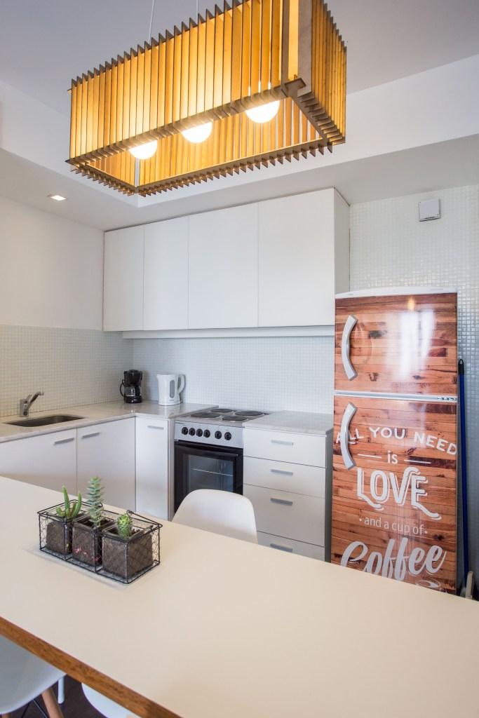 Apartamento Amoblado deluxe cocina