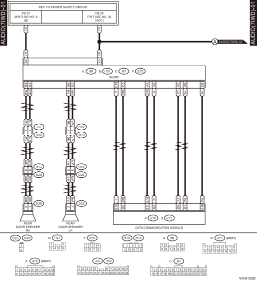 Subaru Wiring Diagrams Lighting Electrical System Schematic Binatani