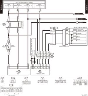 Subaru Crosstrek Service Manual  Eyesight system Wiring