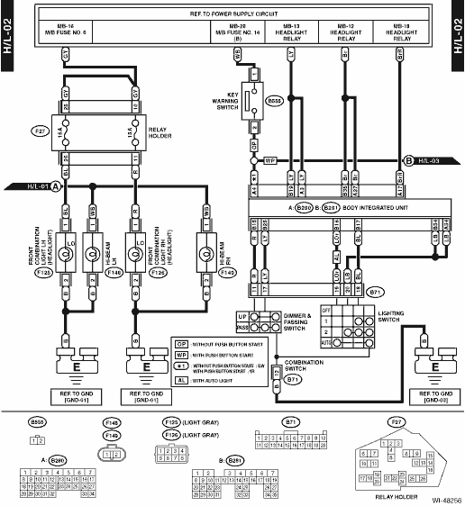 search light wiring diagram