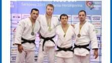 Axel Clerget à la coupe d'Europe de Sarajevo 2015 - Crédits : Union Européenne de Judo