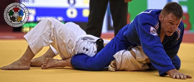Axel Clerget au Baku Grand Slam 2016 - © IJF Media