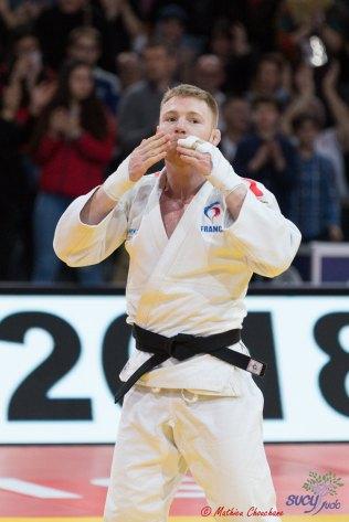 Axel Clerget au Grand Slam de Paris 2018 - Photo : Mathieu Chouchane