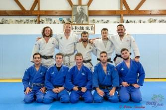 Equipe Sucy Judo à la Coupe d'Europe des clubs