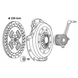 Citroen Butée d'embrayage mécanique LUK Citroen C15