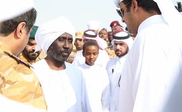 والد الشهيد السوداني القطري