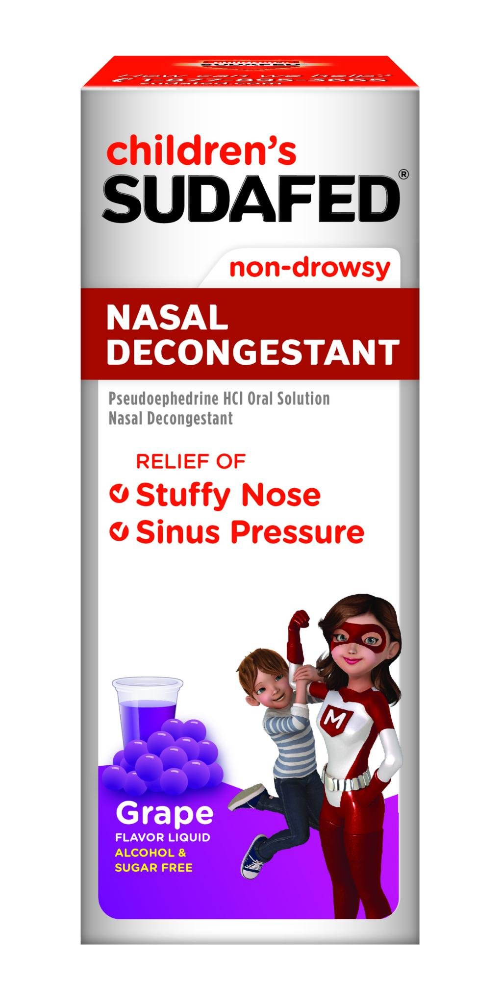 CHILDREN'S SUDAFED® NASAL DECONGESTANT | SUDAFED®