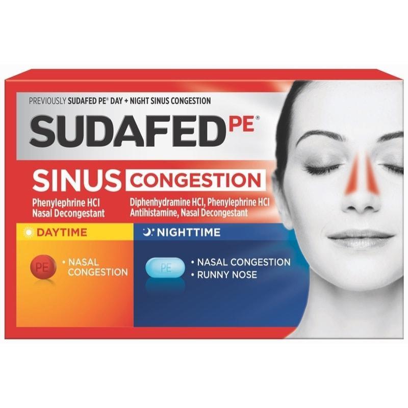 Sudafed Dosage Information   SUDAFED®
