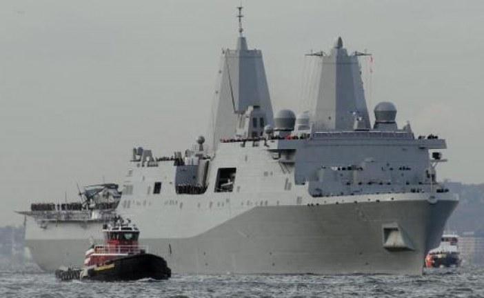أميركا.. أول سفينة حربية بمدفع ليزر