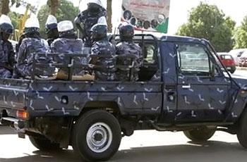 الشرطة تضبط عدد 23 جوال حشش غربي أم درمان