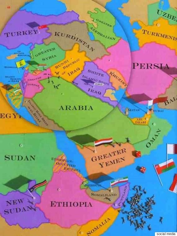 كيف خطت دوائر صناع القرار في الغرب حدود الشرق الأوسط؟