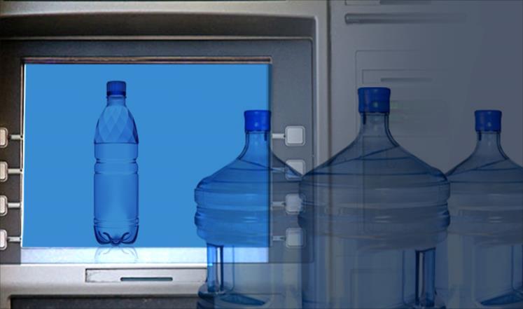 """بالصورة: ماء الشرب """"بالصراف الآلي"""" في كينيا"""