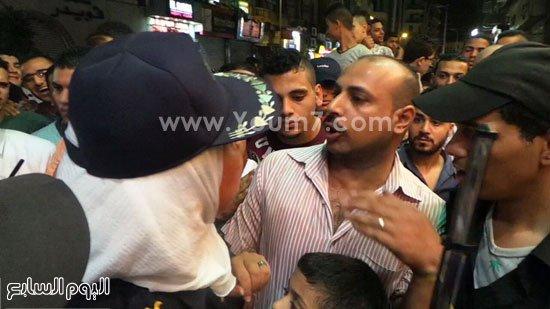 """بالصور..الشرطة النسائية تنجح فى اختبار مواجهة التحرش بالعيد.. علقة ساخنة """"هدية"""" العقيد نشوى لمتحرش"""