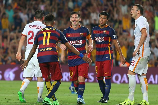 برشلونة يسحق روما بنصف دستة ويعبر إلى دور ال16 في دوري أبطال أوروبا