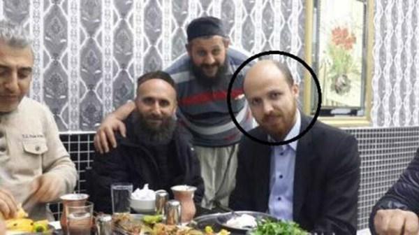 الإعلام الروسي ينشر صورًا لنجل أردوغان بصحبة قيادات داعش