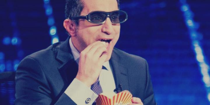 باسم يوسف: رفقاء السيسي على طائرته هم الأكثر شتماً وانتهاكاً للأعراض!