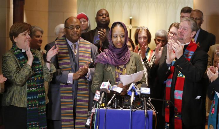 فصل أكاديمية أميركية ارتدت الحجاب تضامناً مع المسلمين