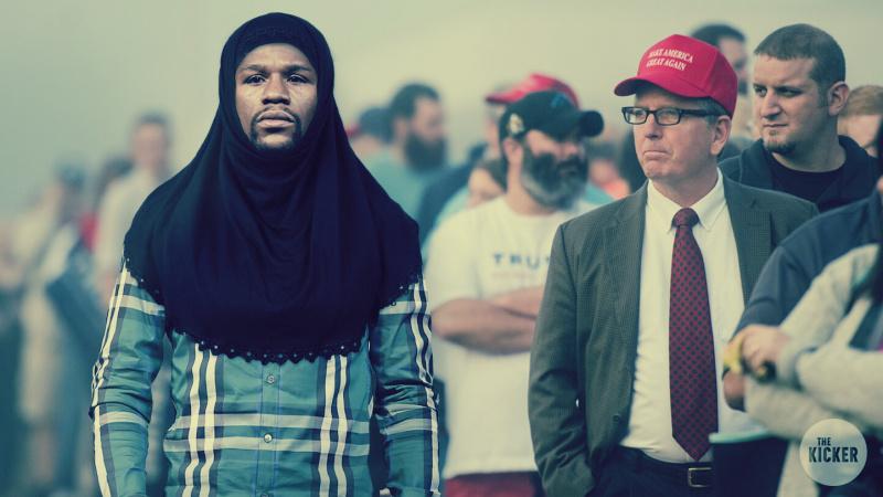 قصة مُلاكم عالمي تحدى مرشح رئاسي أمريكي يعادي الإسلام: ارتدى «الحجاب»