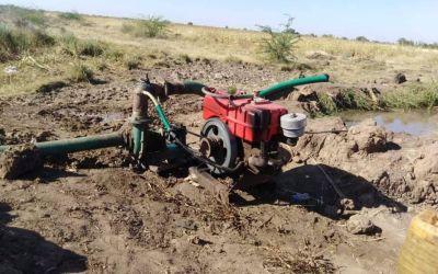 مزارعو القرشي …. في انتظار عودة المياه الى مجاريها