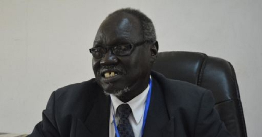 Chairman of South Sudan's Democratic Change (DC) Party Onyoti Adigo Nyikwec [Photo via Juba Monitor]