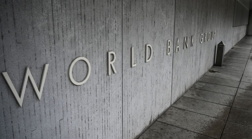 World Bank Group headquarters. [Photo by Eric Baradat/AFP/Getty Images]