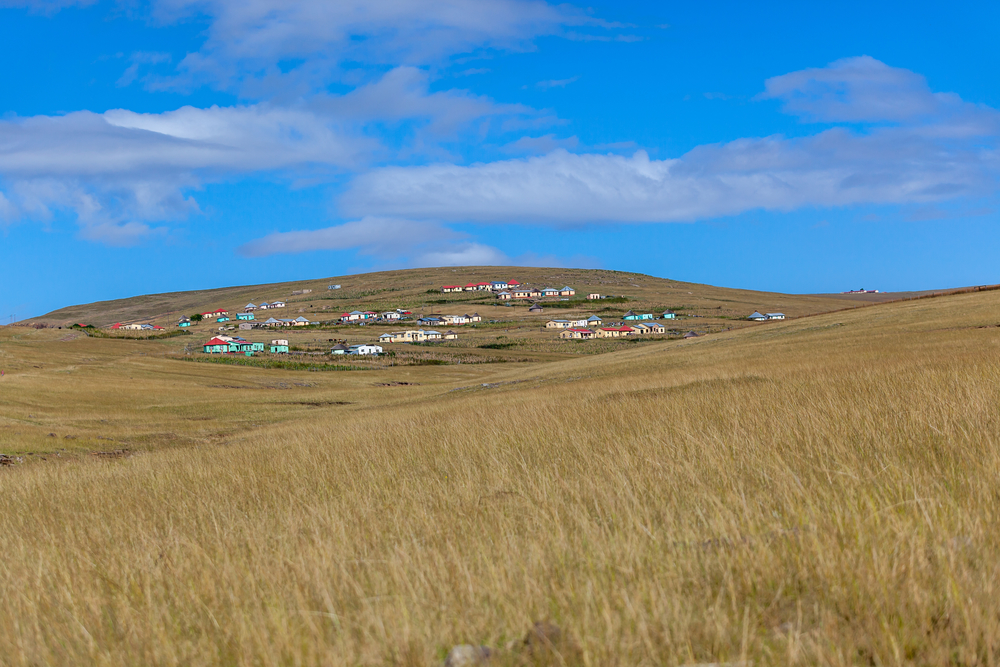 Xhosa village in South Africa