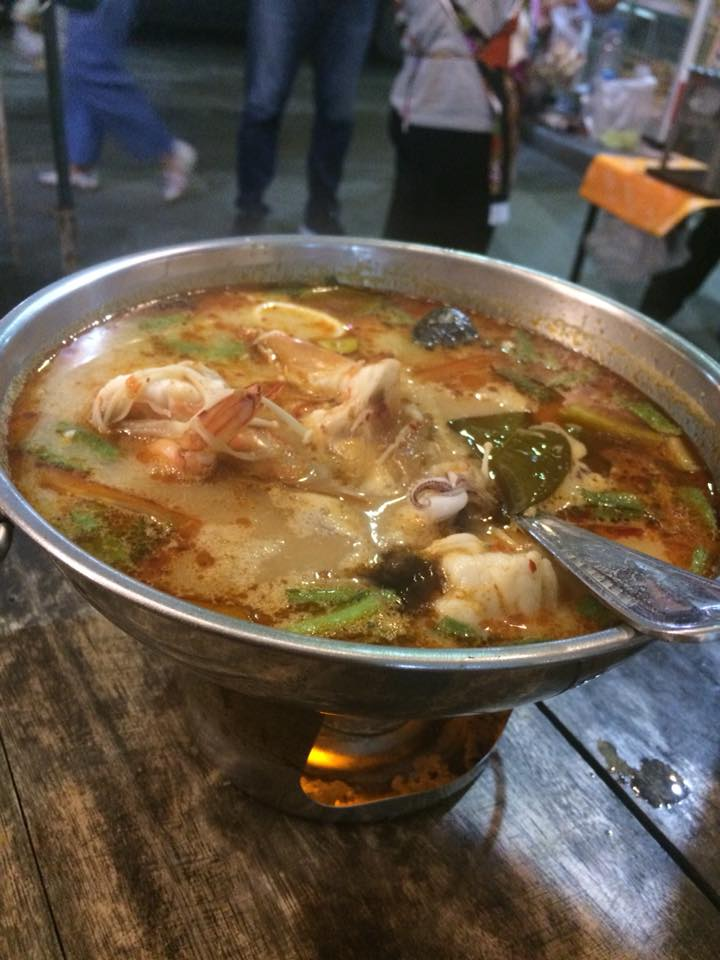 Tom Yum soup in Bangkok
