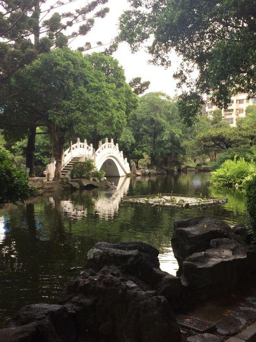 Chang Kai Shek Memorial gardens
