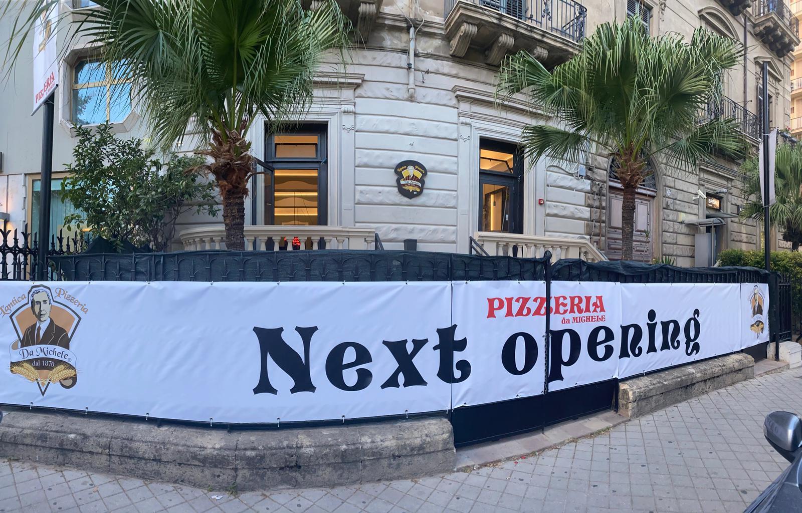 L'Antica Pizzeria da Michele apre a Palermo. La più a Sud d'Italia, la 18° del gruppo