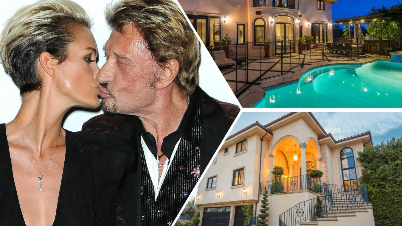 La 5e maison de Johnny et Laeticia Hallyday vendue  perte