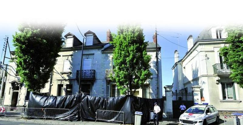 La maison de l'horreur où les corps ont été retrouvés en avril 2011. (AFP)