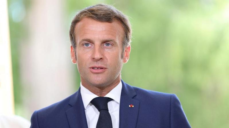 Explosions à Beyrouth: Emmanuel Macron a décollé pour le Liban