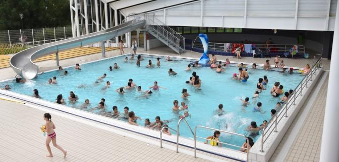 Baignade en sud Mayenne  piscines plan deau jeux deau  Office de Tourisme du Sud Mayenne