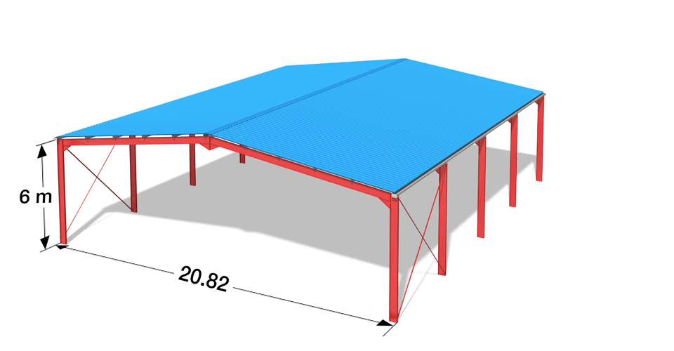 entreprise construction hangar metallique sudmebtal