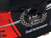 Casque moto racing Arai RX-7V IOMTT 2018 : Édition limitée Tourist Trophy