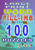 Large Print Word Fill ins