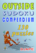 Outside Sudoku Compendium 130 puzzles